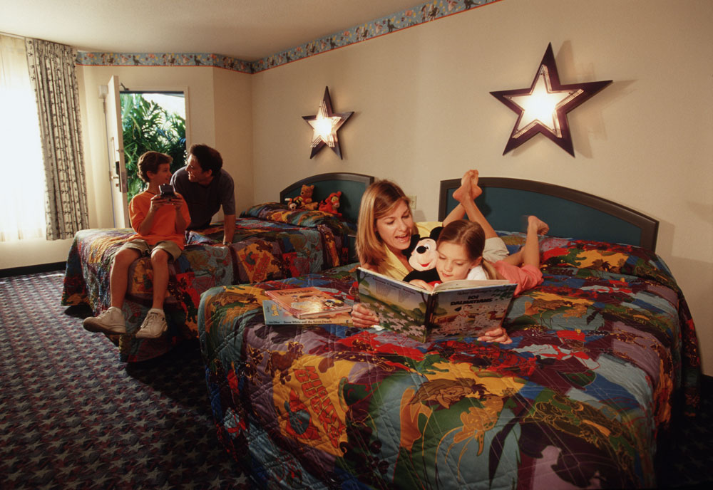 Chambre Hôtel Disney's All Star Movies Resort