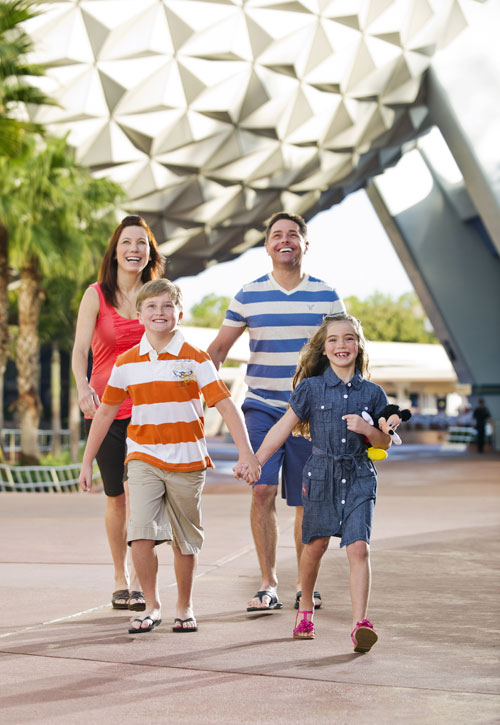 Famille au Epcot International Food & Wine Festival