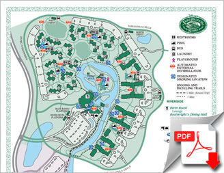 Plan du Port Orleans Resort